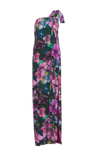 Medium isolda floral dalia one shoulder dress