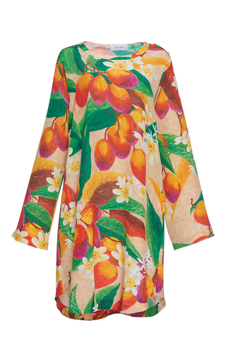 Medium isolda multi cano scoop neck dress
