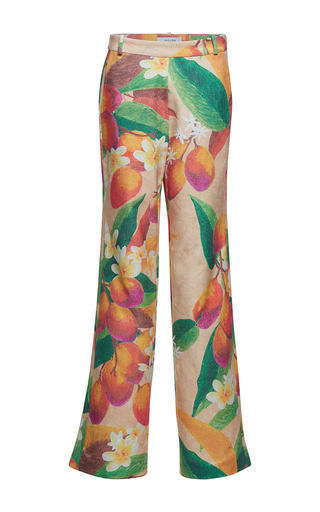 Medium isolda multi francisca wide leg printed trousers