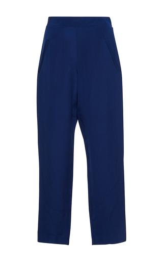 Medium isolda navy margo cropped trousers