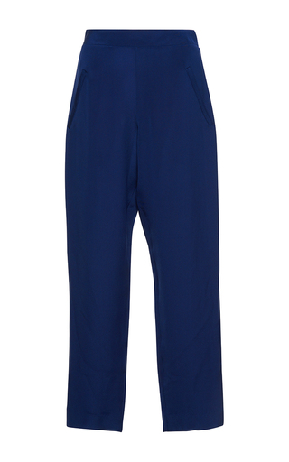 Medium isolda navy margo cropped trousers
