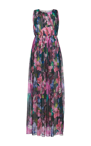 Medium isolda multi thea pleated maxi dress