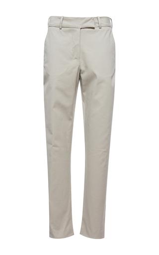 Medium isolda tan brigitte skinny trousers