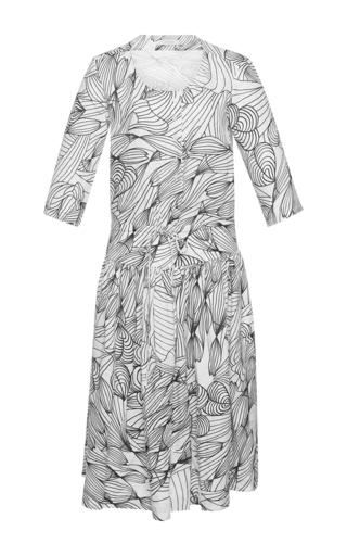 Medium isolda print daniela scoop neck dress