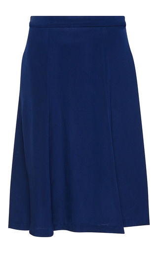 Medium isolda navy flora swing skirt