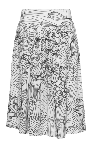 Medium isolda print rio printed midi skirt