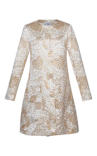 Medium isolda gold brocade structured jacket