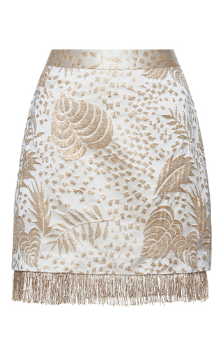 Medium isolda gold bruna mini skirt