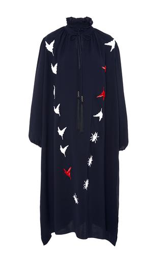 Medium azede jean pierre multi long embroidered shirt dress