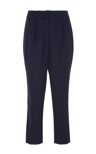 Medium azede jean pierre navy straight leg pants