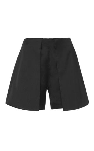 Medium azede jean pierre black high waisted shorts
