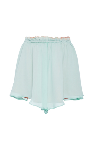 Medium azede jean pierre white wide leg elastic short
