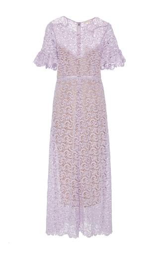 Medium rebecca taylor purple eliza lace midi dress