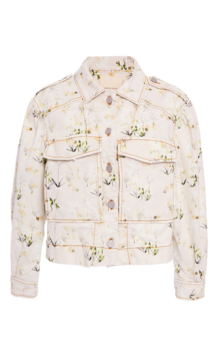 Medium rebecca taylor pink firefly flower jacket