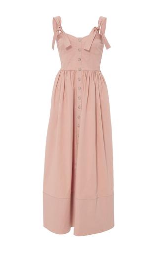Medium rebecca taylor pink cotton midi dress