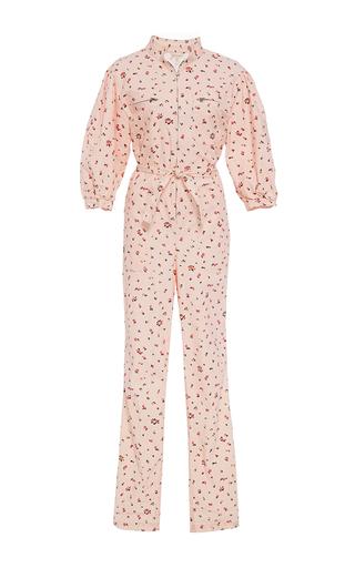 Medium rebecca taylor pink mia floral print jumpsuit