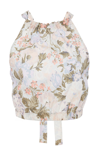 Medium rebecca taylor multi penelope floral print tank