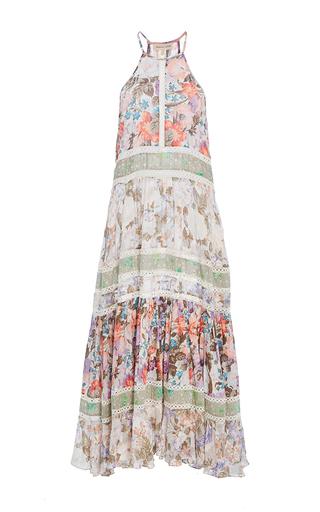 Medium rebecca taylor multi print mix midi dress