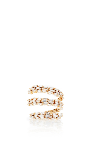 Medium suzanne kalan gold 18k yellow gold thick spiral ring