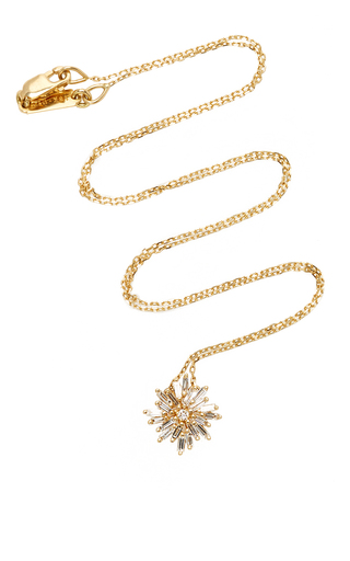 Medium suzanne kalan gold 18k yellow gold diamond necklace