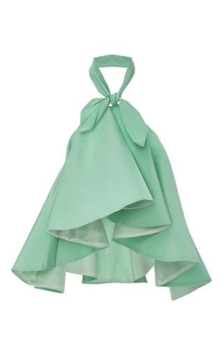 Medium viva aviva green knot ical neckerchief top