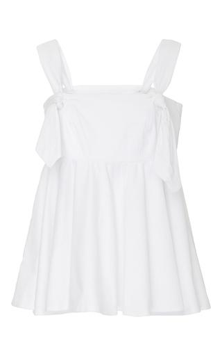 Medium viva aviva white full knotted ballerina top