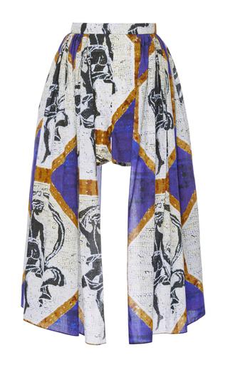 Medium tata naka print print skirted shorts