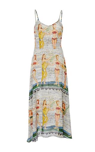 Medium tata naka print printed strappy sun dress