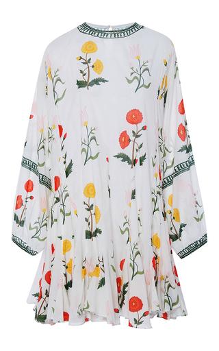 Medium rhode resort white ella belted long sleeve mini dress