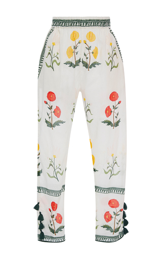Medium rhode resort floral rohan floral tassel pants