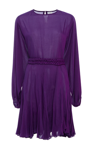 Medium rhode resort purple ella solid dress