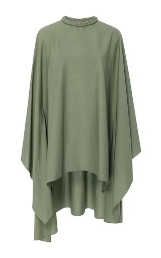 Medium rhode resort green anton braided collar dress
