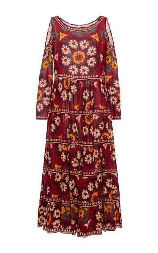 Medium rhode resort multi alexis cold shoulder midi dress