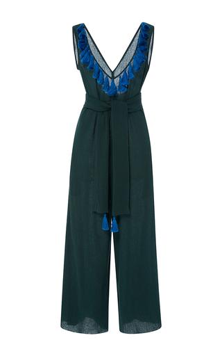 Medium rhode resort green jacqueline tassel jumpsuit