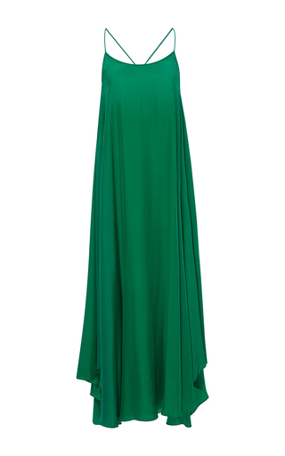 Medium rhode resort green erin crossback tank dress
