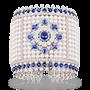 Medium faberge gold dentelle de perles bracelet
