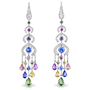 Medium faberge gold delices d ete earrings 2