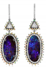 Medium kimberly mcdonald blue boulder opal earrings