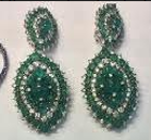 Medium nam cho green convertible riviera earrings