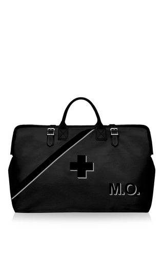 Medium preppi black m onogrammable the prepster black 3 day ultra luxe survival kit