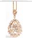 Medium suzanne kalan rose gold rose gold pear necklace
