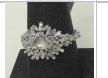 Medium suzanne kalan silver ooak white gold diamond baguette ring