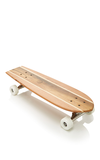 Medium frescobol carioca brown tijuca wooden skateboard