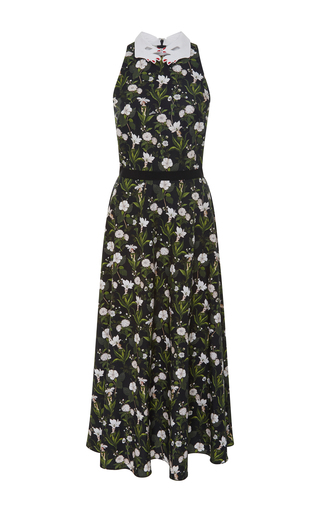 Medium vivetta floral garden floral halter midi dress