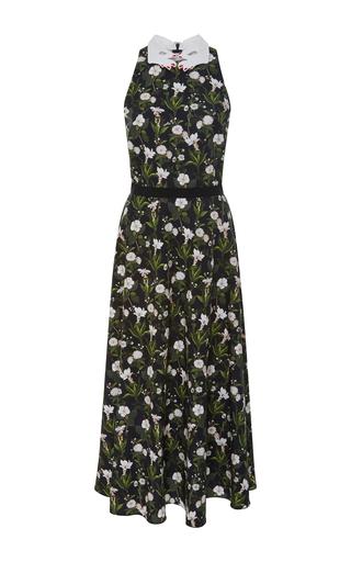 Medium vivetta floral garden floral halter midi dress