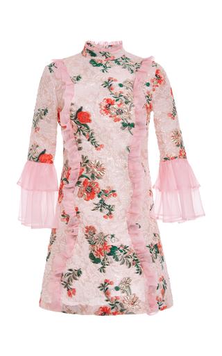 Medium vivetta multi casauro floral brocade mini dress