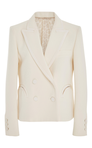 Medium blaze white spencer resolute double breasted blazer