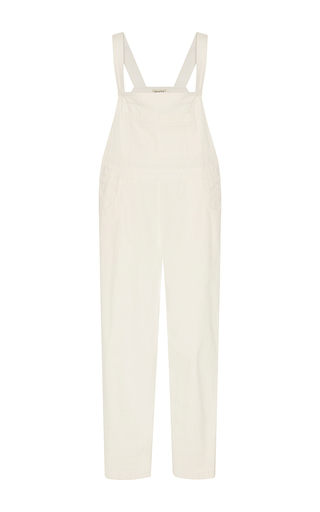 Medium whit white painter s denim overalls