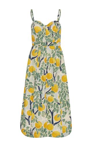 Medium whit multi quinn grove print dress