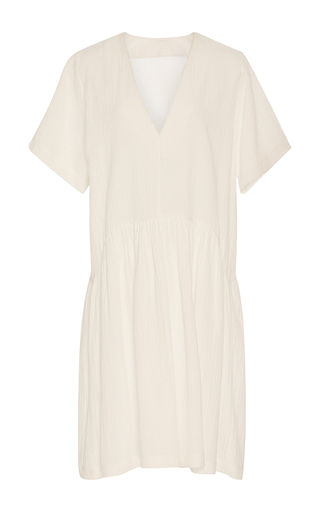Medium whit white catalina gauze dress